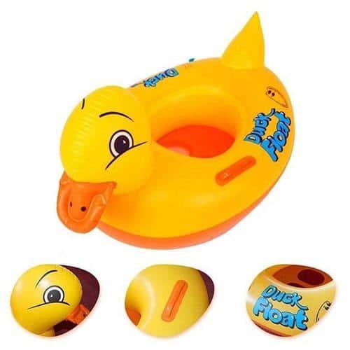 Bouée bébé canard piscine