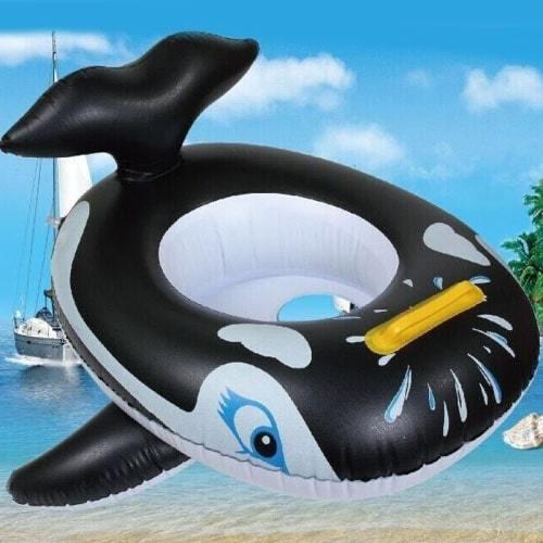 Bouée bébé gonflable orque
