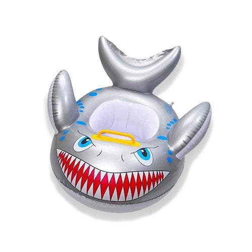 Bouée bébé gonflable requin piscine