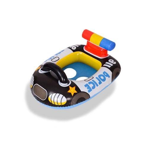 Bouée bébé voiture de police