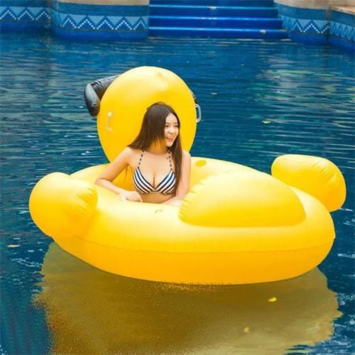 Bouée canard gonflable XL