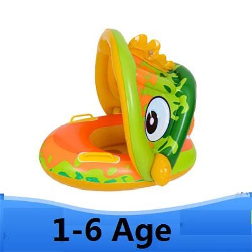 Bouée enfant dinosaure parasoleil âge