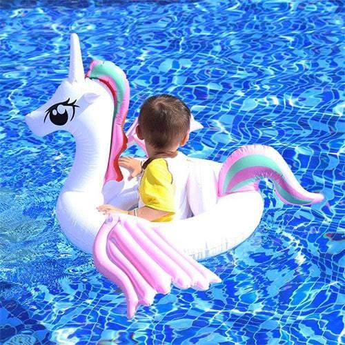 Bouée enfant licorne ailée piscine