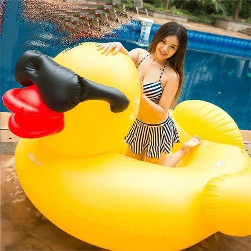 Bouée gonflable canard XL