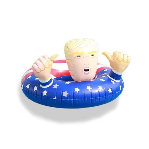 Bouée gonflable Donald Trump