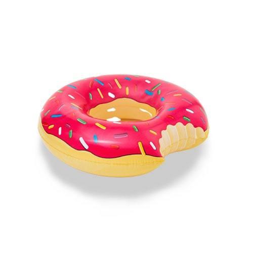 Bouée ronde donuts rose framboise