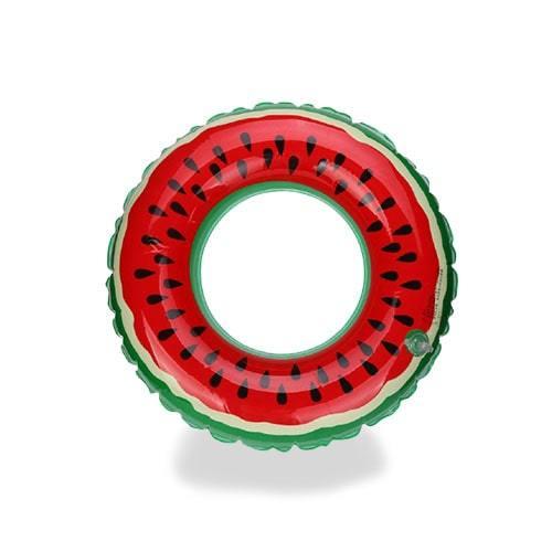 Bouée ronde gonflable pastèque