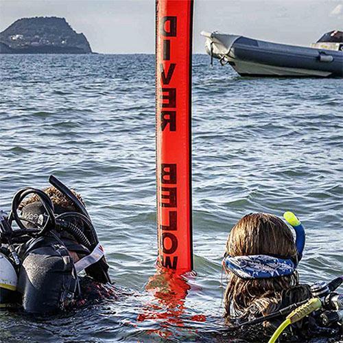 Bouée sportive plongée surface Aqua Bouée