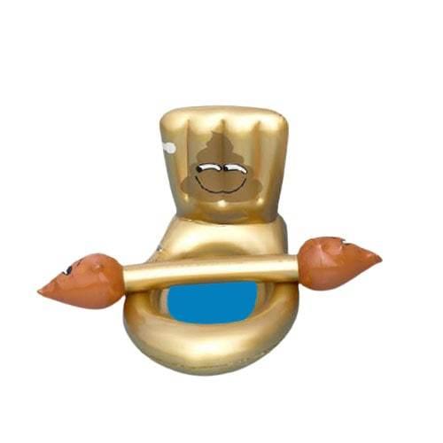 Bouée toilette gonflable