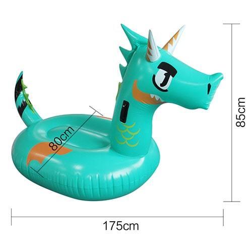 Dimensions bouée XL dragon