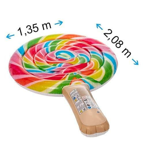 Dimensions matelas gonflable sucette