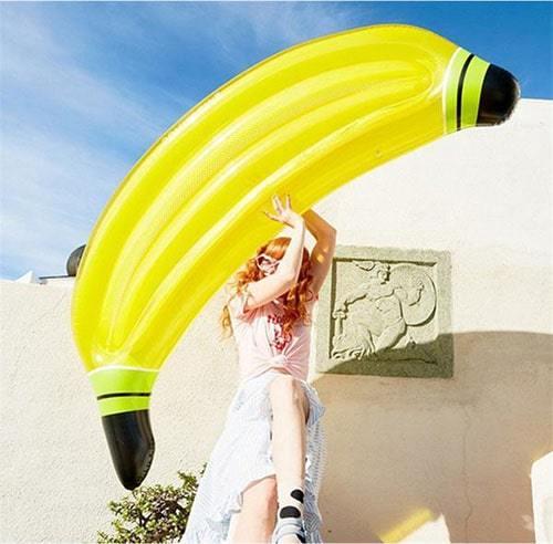 Matelas banane plage