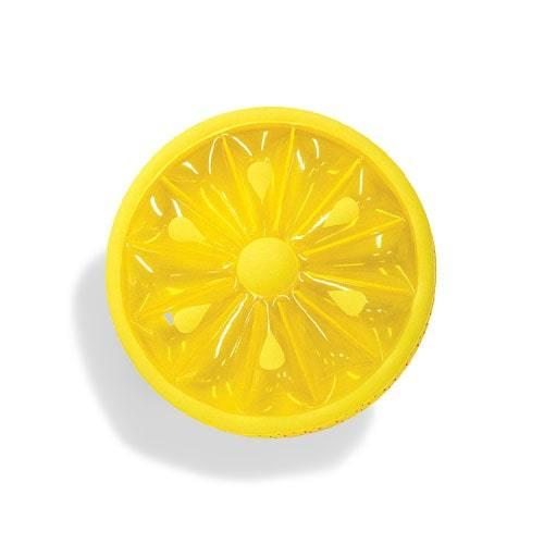 Matelas gonflable citron
