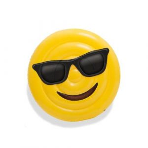 Matelas gonflable smiley lunette