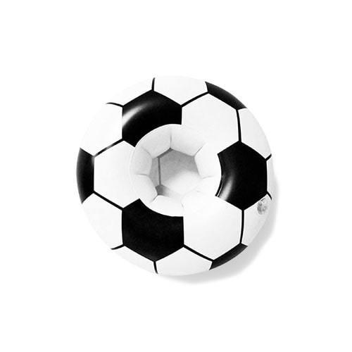 Porte gobelet gonflable ballon de foot