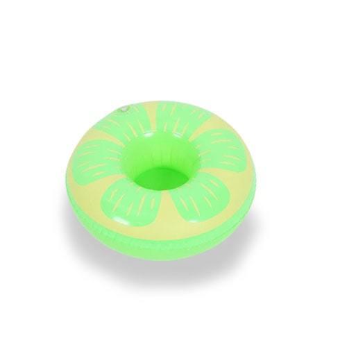 porte vert gonflable citron vert piscine