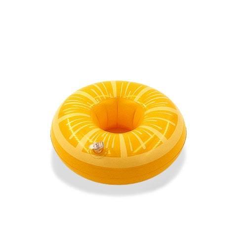 Porte verre gonflable citron