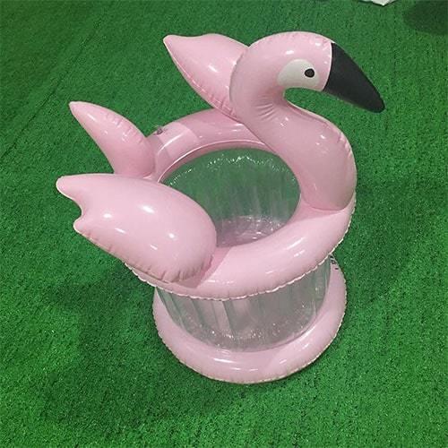 Sceau à glace flamant rose